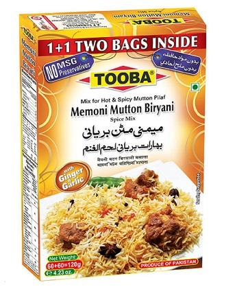 Tooba Memoni Mutton Biryani 100g