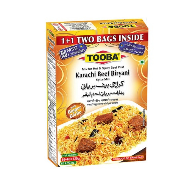 Tooba Karachi Beef Biryani 100g
