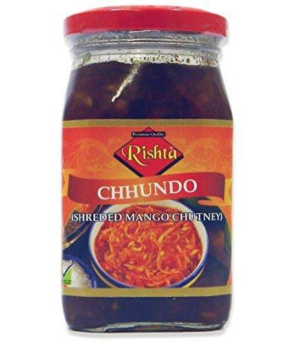 RISHTA CHUNDO (SHREDDED MANGO CHUTNEY) 450G