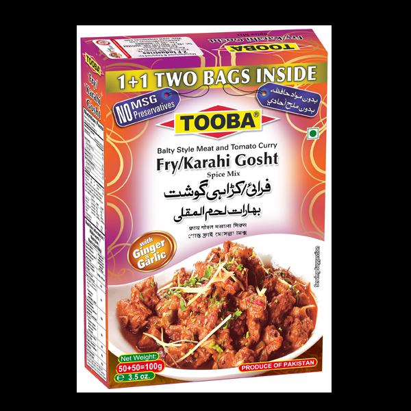 Tooba Fry/Karahi Gosht 100g